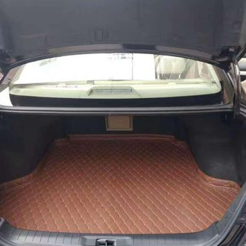 xpe leather Mercede-s g63 2015 car trunk Mats