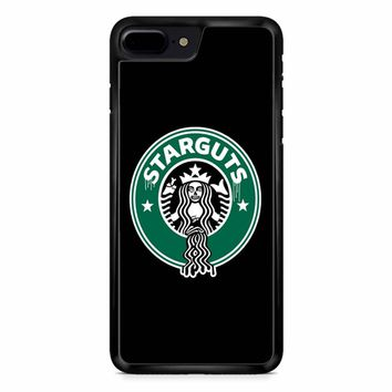 Funny Starbucks Logo Parody iPhone 8 Plus Case