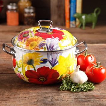 The Pioneer Woman Floral Garden 4-Quart Dutch Oven, Multi-Color - Walmart.com