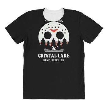 crystal lake camp counselor All Over Women's T-shirt