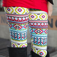 Abstract Tribal Leggings