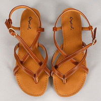 Strappy Sweetheart Sandals