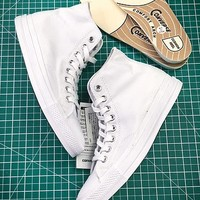 17aw Converse Chuck Taylor All Star Hi Addict Vibram White Sneakers - Best Online Sale