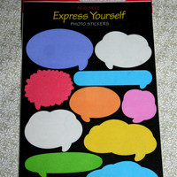 DESTASH Sandylion Speech Bubble Stickers Multicolored Word Balloons