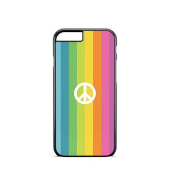 Peace Symbol Rainbow iPhone 6s Case