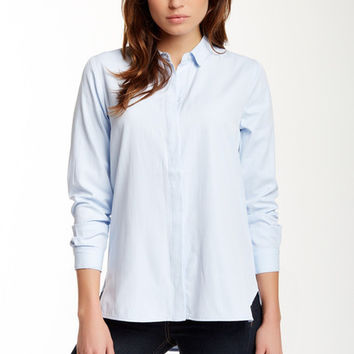 RDI | Hi-Lo Hem Perfect Shirt | Nordstrom Rack