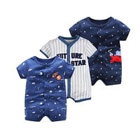 Baby Boy and Baby Girl Clothes 0-24 Baby Rompers Summer
