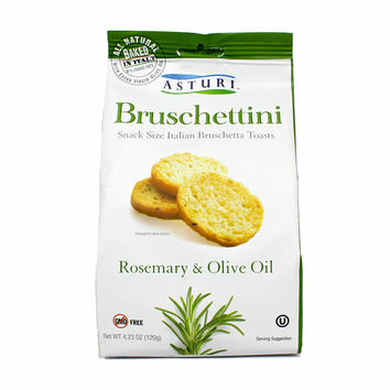 Asturi Bruschettini Rosemary and Olive Oi 4.2 oz