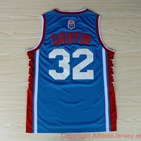 Blake Griffin 32 LA Stars Los Angeles Clipper Hardwood Classics NBA Basketball Jersey
