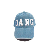 Gang Hat (washed denim)