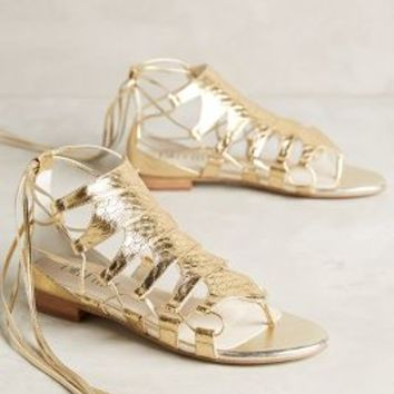 Billy Ella Embossed Metallic Gladiators