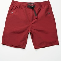 Modern Amusement Mountain Shorts - Mens Shorts - Red