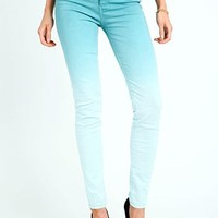 Ombre Fade Skinny Jeans
