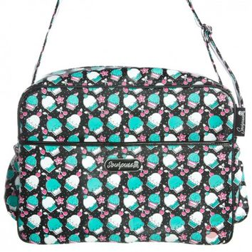 Sourpuss Eat A Cupcake Nappy Bag | Diaper Bag