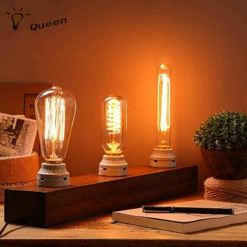 Vintage Light Blub E27 220V Edison Lamp 40w Lampada Pendant Lights Incandescent Bulb Retro Lamp Home and Outdoor Lighting lampen