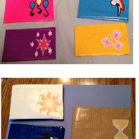 My Little Pony Duct Tape Wallets