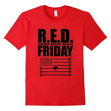 RED Friday Remember Everyone Deployed