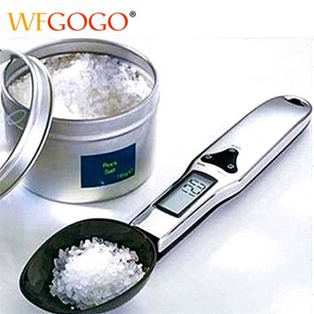 300g/0.1g Portable LCD Digital Scale | Electronic Measuring Spoon