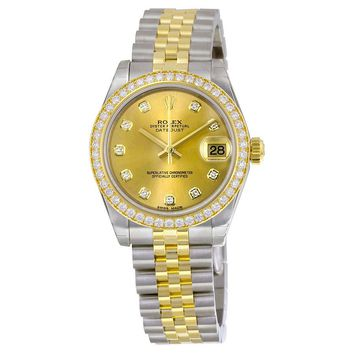 Rolex Datejust Lady 31 Rolex Jubilee Automatic  Watch  178383CDJ