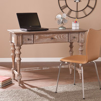 Southern Enterprises Lawrence Turned-Leg Desk
