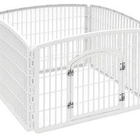 Pet Dog Pen Exercise Playpen Kennel Fence Puppy Crate Indoor Panel Folding