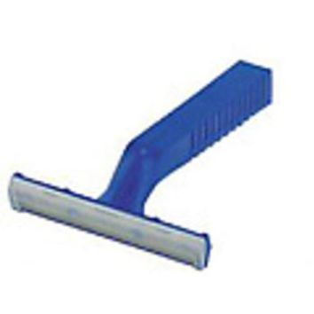 Disposable Razor, Twin-Blade, Blue Handle