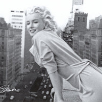 Marilyn Monroe - Balcony Posters at AllPosters.com