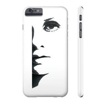 Half Face Phone Case