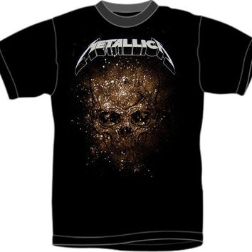 Metallica T-Shirt - World Magnetic Tour Explosive Skull