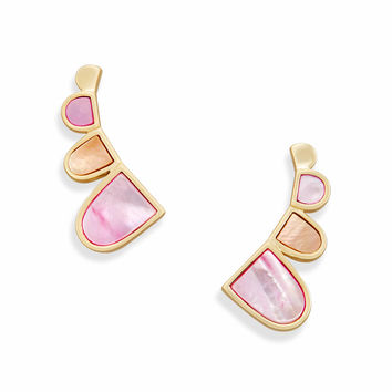 Fannie Ear Climbers in Blush Pearl | Kendra Scott Earrings