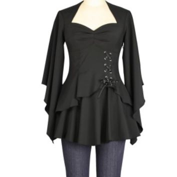 Chicstar | New Romantic Blouse (Black)