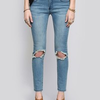 Wander Twiggy Skinny Jeans - Bottoms - Clothes | GYPSY WARRIOR