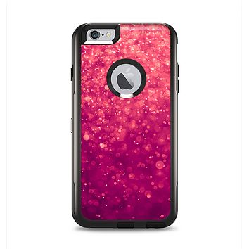 The Unfocused Pink Glimmer Apple iPhone 6 Plus Otterbox Commuter Case Skin Set
