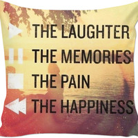 Tumblr Quote Throw Pillow
