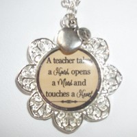 Teacher's Gift Necklace