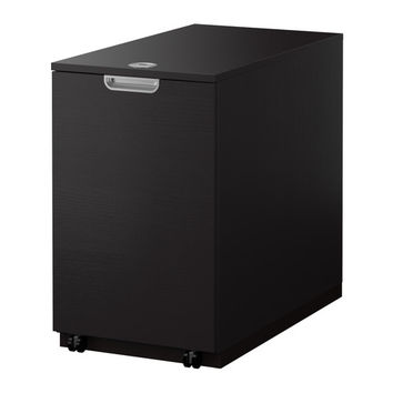GALANT Storage unit for printer - black-brown - IKEA