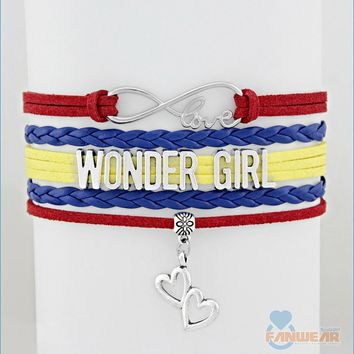 WONDER GIRL Infinity Love Bracelet