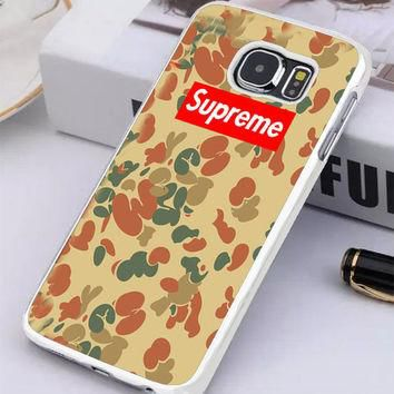 Supreme Camo Vertical Samsung Galaxy S6 Edge Plus Case | Tegalega