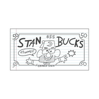 Gravity Falls - Stan Bucks