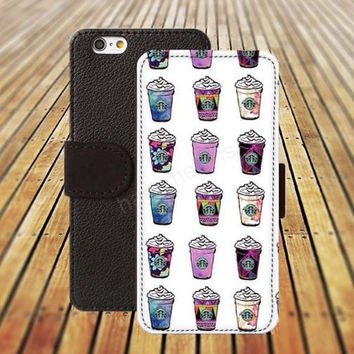 iphone 5 5s case Coffee case iphone 4/ 4s iPhone 6 6 Plus iphone 5C Wallet Case , iPhone 5 Case, Cover, Cases colorful pattern L062