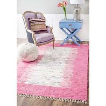 Beachcrest Home Grayling Turin Pink Area Rug & Reviews | Wayfair