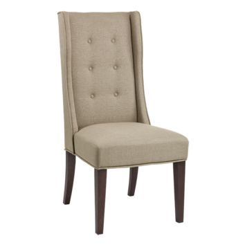 PHILIS DINING CHAIR LINEN SET OF 2