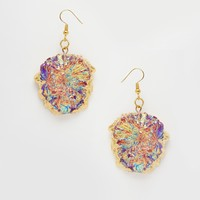 Only Child Kaleido Crystal Drop Earrings