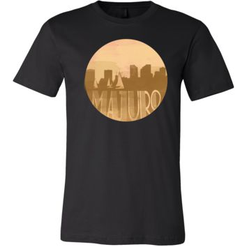 Majuro Capital Skyline Horizon Sunset Marshall Islands Shirt