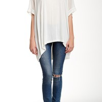 Dolman Sleeve Boxy Cut Tunic