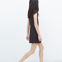 DRESS WITH POINTED SKIRT