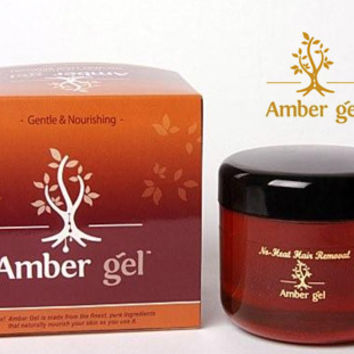 Amber Gel 100% Natural No-Heat Hair Removal Treatment 50ml : Cruelty Free Malta, buy Cruelty Free products online