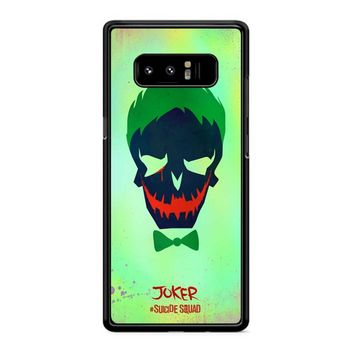 Joker Poster Suicide Squad Samsung Galaxy Note 8 Case