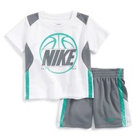 Infant Boy's Nike Graphic T-Shirt & Mesh Shorts