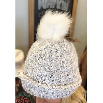 Speckled CC Fleece Beanie
